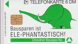 GERMANY - K 621 - ELEPHANT - 9.000EX. - Allemagne