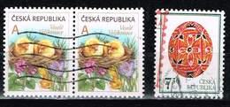 Tschechien 2005/11,, Michel# 426, 676 O Easter Egg - Gebraucht