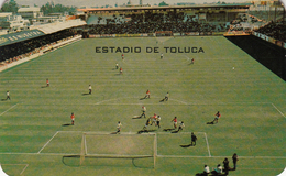 RPPC ESTADIO TOLUCA STADIUM MEXICO 1970 - Fútbol