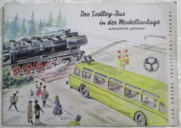 EHEIM Bibel Ratgeber Trolley-Bus In Der Modellbahn Anlage Handbuch Anleitung TOP - HO Scale
