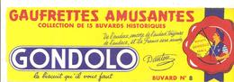 Buvard GONDOLO Gaufrettes Amusantes Buvard N°8 - Cake & Candy