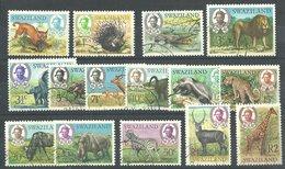 (160) Swaziland  1969, Def's Animals Very Fine Used Set - Swaziland (1968-...)