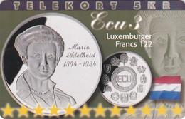 Denmark, P 222, Ecu - Luxemburg, Mint, Only 800 Issued, 2 Scans.  Please Read - Denmark