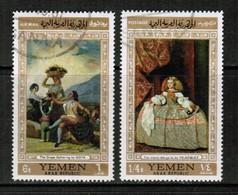 YEMEN  Scott # 241-241D VF USED (Stamp Scan # 427) - Yemen