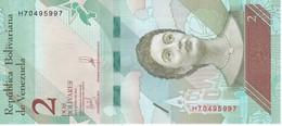 BILLETE DE VENEZUELA DE 2 BOLIVARES DEL 15 DE ENERO DEL AÑO 2018 SIN CIRCULAR-UNCIRCULATED (BANKNOTE) LORO-PARROT - Venezuela