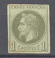Colonies Générales: Yvert N° 7*, 4 Marges; Petit Clair; Voir Scan - Napoleon III