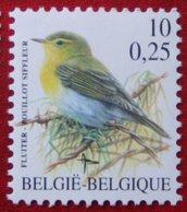 10 Fr/ 0.25 Bird Vogel Oiseau Pajaro Buzin OBC N° 2936 (Mi 2988) 2000 POSTFRIS MNH ** BELGIE BELGIEN / BELGIUM - Ungebraucht
