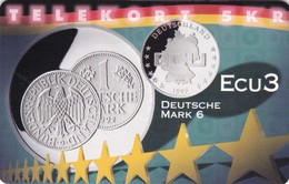 Denmark, P 255, Ecu - Germany, Mint, Only 800 Issued, 2 Scans.  Please Read - Denmark