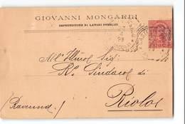 7962  CASTELFIDARDO MONGARDI X RIOLO - 1899 - 1878-00 Umberto I