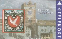 Denmark, TP 021, 5kr, Rare Stamps - Basler Täubchen , Mint, Only 3000 Issued, Stamp On Card, 2 Scans. - Denmark