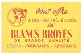 Buvard MORCOLOR Vous Offres à Des Prix étudiés Ses BLANCS BROYES De Grande Qualité - Paints