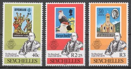 Seychelles 1979 Mi# 439-41** SIR ROWLAND HILL, STAMP ON STAMP - Seychelles (1976-...)