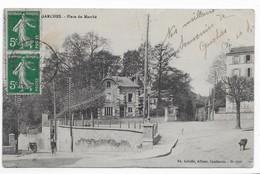 92  GARCHES PLACE DU MARCHE  1912   (pas Courante ) 2 SCANS - Garches