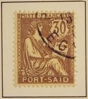 1902 - PORT-SAÏD Y&T 29 Type Mouchon (ex-colonies & Protectorats ) Oblitéré Pas De Point Sur Le I ? - Port-Saïd (1899-1931)