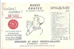 Buvard PROTEZ-DELATRE Chicorée Et Malt à CAMBRAI - Café & Thé