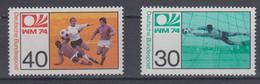 GERMANY 1974 FOOTBALL WORLD CUP - Coppa Del Mondo