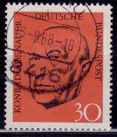 Germany, 1968, Konrad Adenauer, 30pf, Sc#988, Used - [7] Federal Republic
