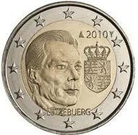 2 Euro Luxemburgo 2010 -UNC - Luxembourg