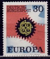 Germany, 1967, CEPT Europa, 30pf, Sc#970, Used - [7] Federal Republic