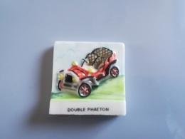 BONNE ROUTE LES ROIS - DOUBLE PHAETON - FEVE BRILLANTE - FEVES DE CETTE EPOQUE MAL EBAVUREES - Autres