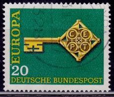 Germany, 1968, CEPT Europa, 20pf, Sc#983, Used - [7] Federal Republic