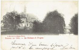 NINOVE En 1901 - Le Château De Neigem - Ninove