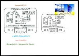 77578) BRD - Karte - SoST 49082 OSNABRÜCK Vom 28.09.2018 - Museum Im Kloster - BRD