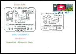 77580) BRD - Karte - SoST 49082 OSNABRÜCK Vom 28.09.2018 - Museum Im Kloster - [7] République Fédérale