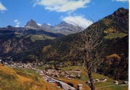 Champoluc - Aosta - Panorama - Sfondo Testa Grigia - Formato Grande Viaggiata – E 8 - Aosta
