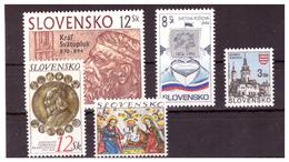 SLOVACCHIA - 1994 - ALCUNI VALORI. - MNH** - Slovaquie