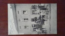 MOSELLE 57 - CARTE POSTALE ANCIENNE REDANGE CAFE SCHAUL + COIFFEUR / BELLE ANIMATION BON PLAN - France