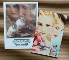 CC Carte 'CACHAREL' 'LOT DE CARTES 'ANAIS ANAIS' Perfume Card 1 EX.! - Cartes Parfumées