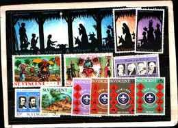 73311)  SAN VINCENT-LOTTO FRANCOBOLLI -MNH**- - St.Lucia (1979-...)