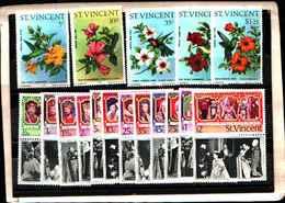 73313)  SAN VINCENT-LOTTO FRANCOBOLLI -MNH**- - St.Lucia (1979-...)