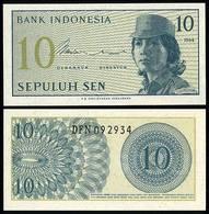 Indonesia - 10 Sen 1964 UNC - Indonesië
