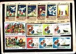 73314)  SAN VINCENT-LOTTO FRANCOBOLLI -MNH**- - St.Lucia (1979-...)