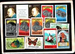 73315)  SAN VINCENT-LOTTO FRANCOBOLLI -MNH**- - St.Lucia (1979-...)