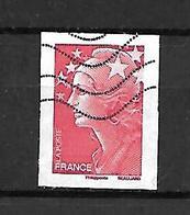 Fg 141  France Marianne De Beaujard Adhésif N°175 Obl. Non Dentelé - France
