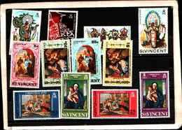 73317)  SAN VINCENT-LOTTO FRANCOBOLLI -MNH**- - St.Lucia (1979-...)