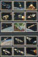Yemen Kingdom, 1969, Apollo, Space, MNH, Michel 726-740A - Yémen