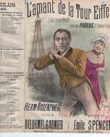 CAF CONC HUMOUR PAULUS PARTITION XIX L'AMANT DE LA TOUR EIFFEL BOUFFE DELORMEL GARNIER SPENCER ROSENZWEIG 1890 ILL FARIA - Music & Instruments