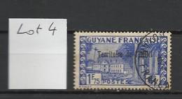 ININI : Lot 4 YT N°23 Oblitéré (1F75 Bleu Outremer) - Used Stamps