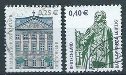 ALLEMAGNE ALEMANIA GERMANY DEUTSCHLAND BUND 2004 SEHENSWÜRDIGKEITEN SET 2V. MI 2374-75 YV 2200-01 SC 2200-01 SG 3151-52 - Gebraucht