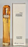 Gianfranco Ferrè Gff Essence D'Eau Eau De Parfum Edp Spray 40ML Fl. Oz. 1.3 Perfume Woman Rare Vintage Old 2003 - Women