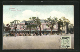 Postal Gibraltar, View Of The Assembly Rooms - Gibraltar