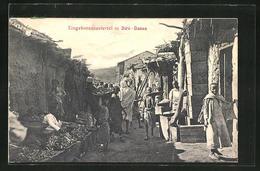 CPA Diré-Daoua, Blick In Eine Strasse Im Eingeborenenviertel - Unclassified