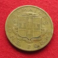 Jamaica 1 Penny 1940  Jamaique Jamaika Wºº - Jamaica