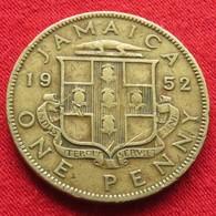 Jamaica 1 Penny 1952  Jamaique Jamaika Wºº - Jamaique