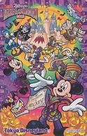 Télécarte Privée NEUVE Japon - DISNEY - HALLOWEEN 2012 - Chauve Souris Bat - DISNEYLAND Japan MINT Phonecard - Disney