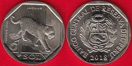 """Peru 1 Sol 2018 """"Jaguar"""" UNC - Perú"""